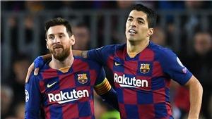 Barca mất 53% sức mạnh nếu để Suarez và Messi ra đi