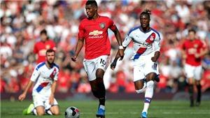 Cập nhật trực tiếp bóng đá Ngoại hạng Anh: MU vs Crystal Palace