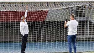 Mourinho yêu cầu đổi khung thành trước trận chiến của Tottenham ở Europa League
