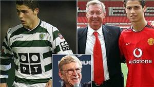 HLV Arsene Wenger từng mua hụt Ronaldo như thế nào?