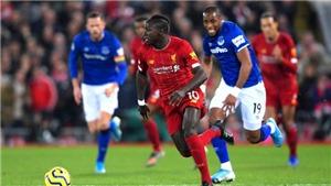 Trực tiếp bóng đá. Everton vs Liverpool. Ngoại hạng Anh Vòng 5. Trực tiếp K+ PM