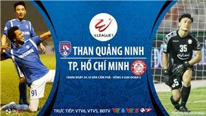 Soi kèo nhà cái. Quảng Ninh vs TPHCM. Trực tiếp bóng đá Việt Nam 2020