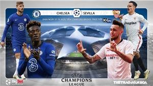 Soi kèo nhà cái Chelsea vs Sevilla. Vòng bảng Cúp C1 châu Âu. Trực tiếp K+PC