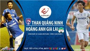 Soi kèo nhà cái. Quảng Ninh vs HAGL. Trực tiếp bóng đá Việt Nam 2020