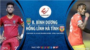 Soi kèo nhà cái. Bình Dương vs Hà Tĩnh. Trực tiếp bóng đá Việt Nam 2020