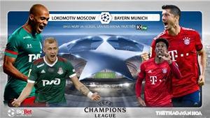 Soi kèo nhà cái Lokomotiv vs Bayern Munich. Vòng bảng Cúp C1. Trực tiếp K+ PM