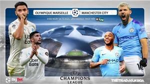 Soi kèo nhà cái Marseille vs Man City. Vòng bảng Cúp C1. Trực tiếp K+ PM