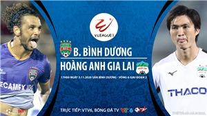 Soi kèo nhà cái Bình Dương vs HAGL. Trực tiếp bóng đá Việt Nam 2020