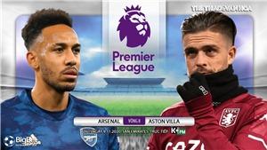 Soi kèo nhà cái Arsenal vs Aston Villa. Vòng 8 giải Ngoại hạng Anh. Trực tiếp K+ PM