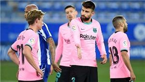 Bóng đá hôm nay 1/11: Sao Barca nổi giận sau trận hòa Alaves. MU tan tác lực lượng khi đấu Arsenal