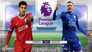 Soi kèo nhà cáiLiverpool vs Leicester. Vòng 9 Giải ngoại hạng Anh