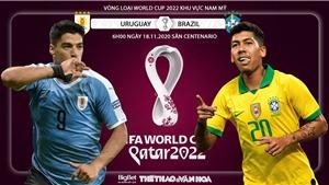 Soi kèo nhà cáiUruguay vs Brazil. Vòng loại World Cup khu vực Nam Mỹ