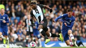 Trực tiếp bóng đá. Newcastle vs Chelsea. K+PM trực tiếp ngoại hạng Anh vòng 9