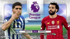 Soi kèo nhà cáiBrighton vs Liverpool. Vòng 10 giải Ngoại hạng Anh