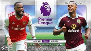 Soi kèo nhà cái Arsenal vs Burnley.  Trực tiếp bóng đá Vòng 12 Giải Ngoại hạng Anh