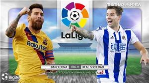 Soi kèo nhà cái Barcelona vs Real Sociedad. Vòng 14 La Liga Tây Ban Nha