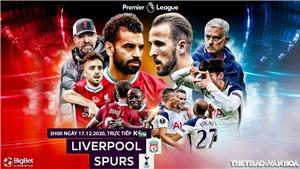 Soi kèo nhà cáiLiverpool vs Tottenham. Trực tiếp bóng đá vòng 13 giải Ngoại hạng Anh