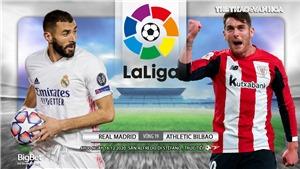 Soi kèo nhà cáiReal Madrid vs Athletic Bilbao. Vòng 19 La Liga Tây Ban Nha