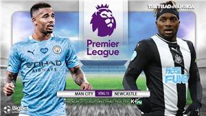 Soi kèo nhà cáiMan City vs Newcastle. Trực tiếp bóng đá vòng 15 Ngoại hạng Anh
