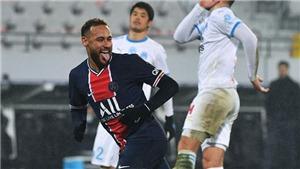 Neymar trả đũa đối thủ sau khi bị phạm lỗi