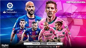 Soi kèo nhà cáiHuesca vs Barcelona. Trực tiếp bóng đá Tây Ban Nha
