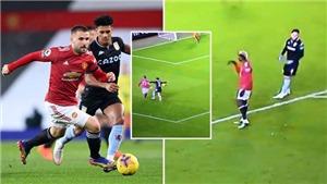 MU: Pogba bị tố 'tự vấp ngã' để kiếm phạt đền trận gặp Aston Villa