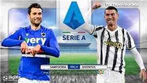 Soi kèo nhà cáiSampdoria vs Juventus. FPT trực tiếp bóng đá Italia Serie A vòng 20