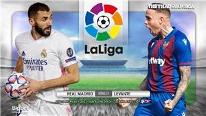 Soi kèo nhà cáiReal Madrid vs Levante. BĐTV trực tiếp La Liga vòng 21
