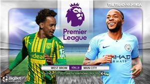 Soi kèo nhà cáiWest Brom vs Man City. Vòng 20 giải Ngoại hạng Anh