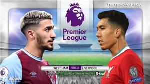 Soi kèo nhà cáiWest Ham vs Liverpool. K+PM trực tiếp bóng đá Ngoại hạng Anh