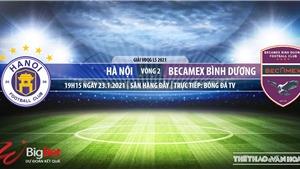 Soi kèo nhà cái Hà Nội vs Bình Dương.BĐTV trực tiếp bóng đá Việt Nam 2021