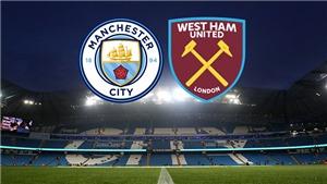 K+, K+PM trực tiếp bóng đá Anh: Man City vs West Ham (19h30, 27/2)