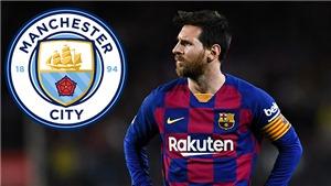 Man City sẵn sàng chi 430 triệu bảng mua Messi