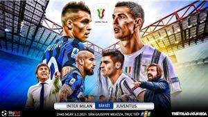 Soi kèo nhà cáiInter Milan vs Juventus. Bán kết lượt đi Cúp quốc gia Italia