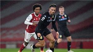 K+, K+PM trực tiếp bóng đá Anh: Aston Villa vs Arsenal (19h30 hôm nay)
