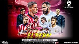 Soi kèo nhà cáiAtletico Madrid vs Real Madrid. Vòng 26 La Liga Tây Ban Nha
