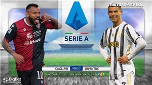 Soi kèo nhà cái Cagliari vs Juventus. Vòng 27 Serie A Italy