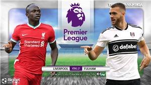 Soi kèo nhà cáiLiverpool vs Fulham. K+, K+PM trực tiếp ngoại hạng Anh