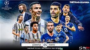Soi kèo nhà cáiJuventus vs Porto. Lượt về vòng 1/8 Cúp C1 châu Âu