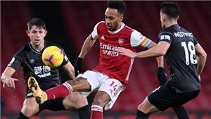 TRỰC TIẾPbóng đá hôm nay: Burnley vs Arsenal (19h30)