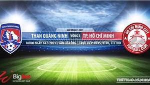 Soi kèo nhà cái Quảng Ninh vs TPHCM.Đấu bù vòng 3 V-League
