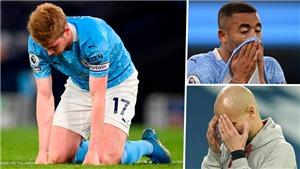 Man City thua Derby: Dấu hiệu đáng lo ngại cho giấc mơ Champions League