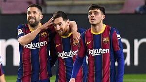 Barcelona 4-1 Huesca: Messi lập cú đúp, Barca phả hơi nóng vào gáy Atletico