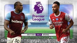 Soi kèo nhà cái West Ham vs Arsenal. K+, K+PM trực tiếp bóng đá Anh
