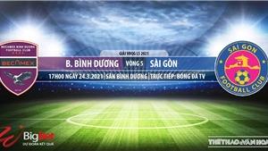 Soi kèo nhà cái Bình Dương vs Sài Gòn. BĐTV trực tiếp bóng đá Việt Nam