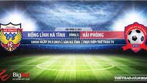 Soi kèo nhà cái Hồng Lĩnh Hà Tĩnh vs Hải Phòng.TTTV trực tiếp bóng đá Việt Nam