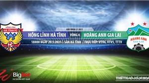 Soi kèo nhà cái Hà Tĩnh vs HAGL. VTV6, TTTV trực tiếp bóng đá Việt Nam