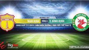 Soi kèo nhà cái Nam Định vs Bình Định.TTTV trực tiếp bóng đá Việt Nam