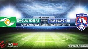 Soi kèo nhà cái SLNA vs Quảng Ninh. BĐTV trực tiếp bóng đá Vòng 4 V-League