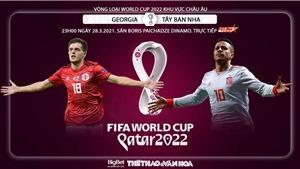 Soi kèo Grudia vs Tây Ban Nha. Vòng loại World Cup 2022 khu vực châu Âu